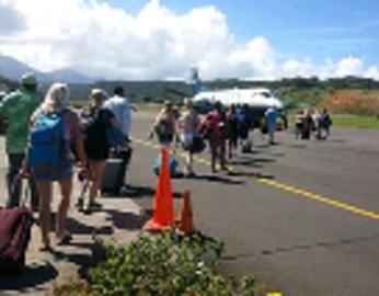 2018 - Dominica Plane